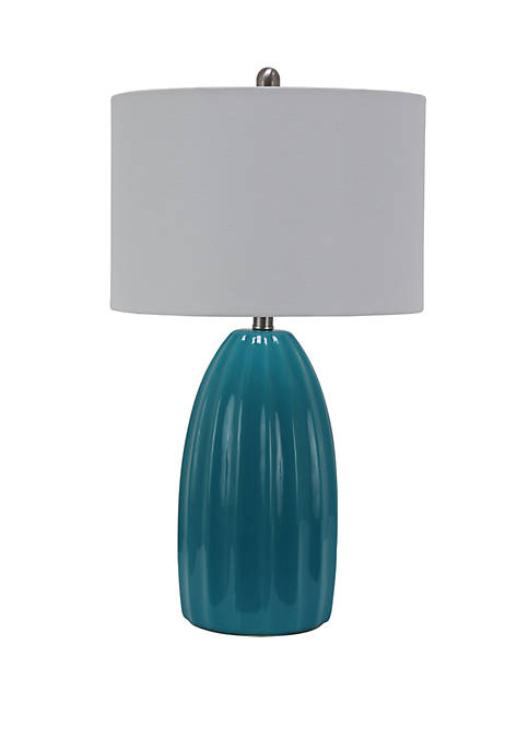 Décor Therapy Cannon Crackle Table Lamp