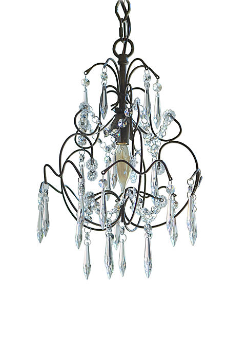 Décor Therapy Mariella Crystal Dangle Chandelier