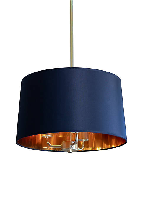 Décor Therapy Elise Convertible Semi Flush Drum Shade