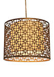 Lana Laser Cut Steel Drum Shade Pendant
