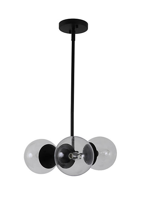 Gabriel Globe 3 Light Chandelier