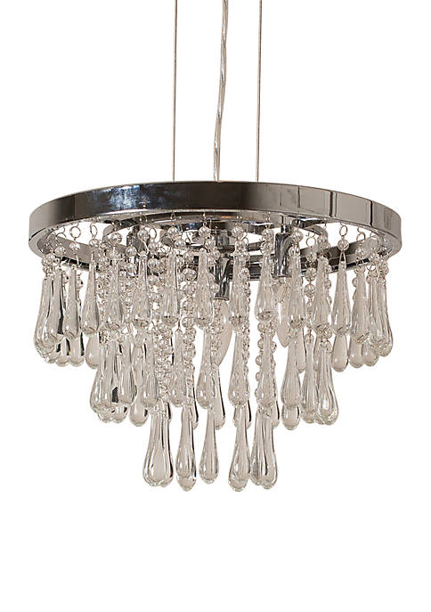 Décor Therapy Cawthorn Crystal 3 Light Pendant