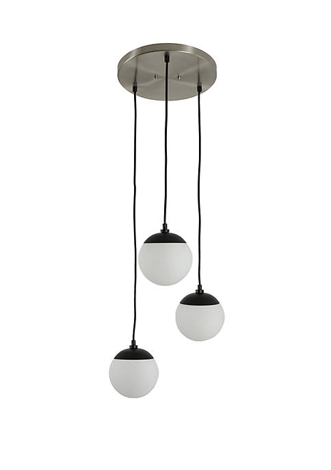 Décor Therapy Foster 3 Light Globe Pendant