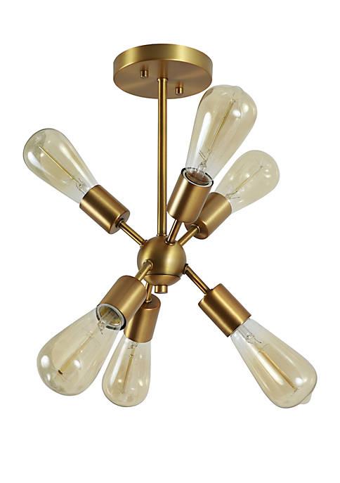 Décor Therapy Tillman 6 Light Sputnik Pendant