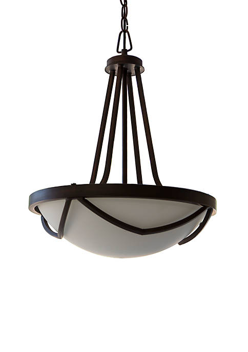 Décor Therapy Easton Pendant Light with Glass Shade