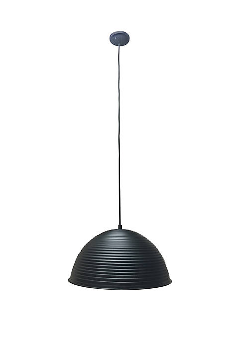Décor Therapy Keiron One Light Bowl Pendant