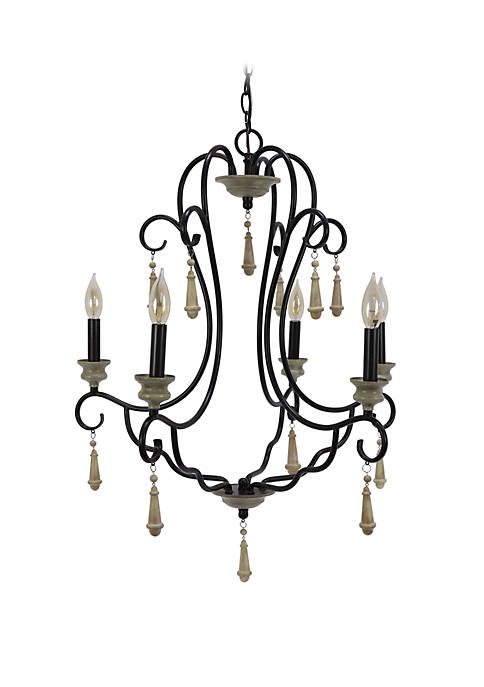 Décor Therapy Blakely 5 Light Chandelier
