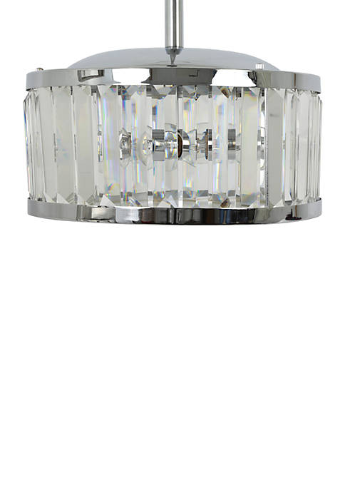 Décor Therapy Edgemoor Crystal Pendant Light