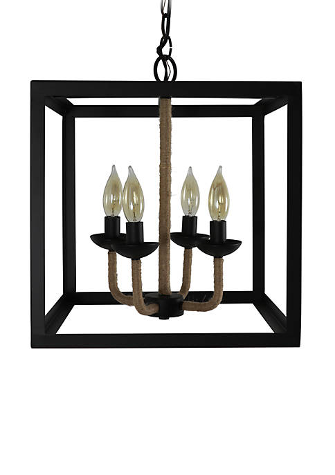 Décor Therapy Carlton 4 Light Metal Pendant