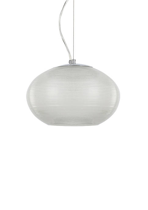 Décor Therapy Burning Glass Pendant Light