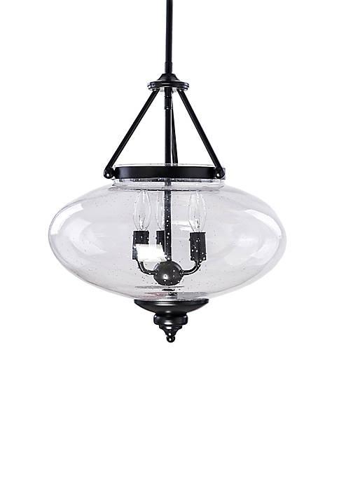 Décor Therapy Minetta 3 Light Convertible Semi Flush/Pendant