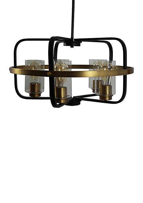 Décor Therapy Henderson 5 Light Multi Finish Pendant