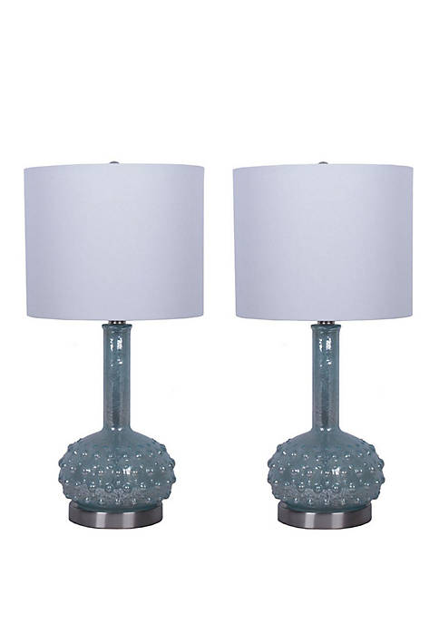 Décor Therapy Set of 2 Morning Dew Mercury