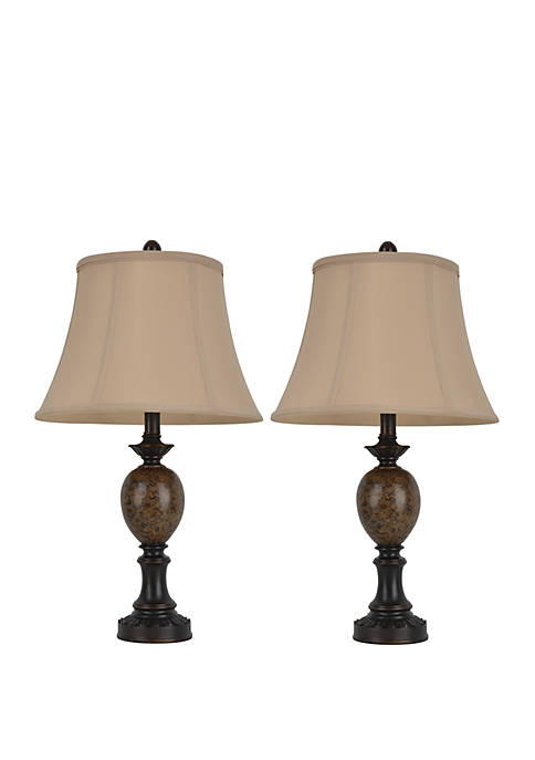 Décor Therapy Set of 2 Mae Table Lamps