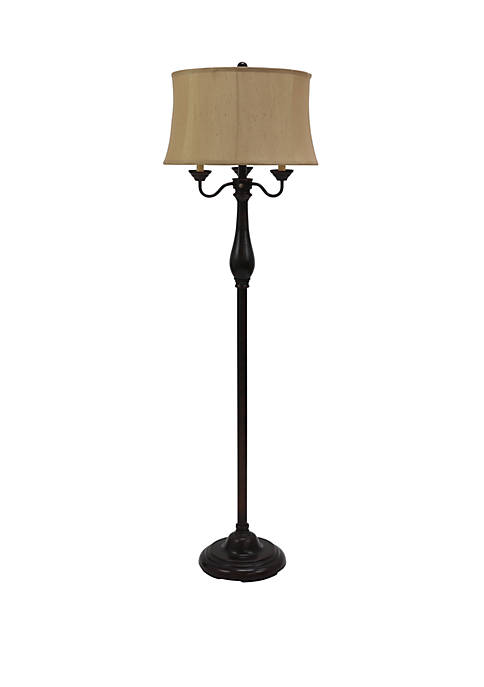 Abigail 6 Way Candle Style Floor Lamp