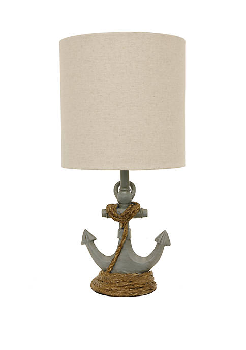 Décor Therapy Saylor Anchor Accent Lamp