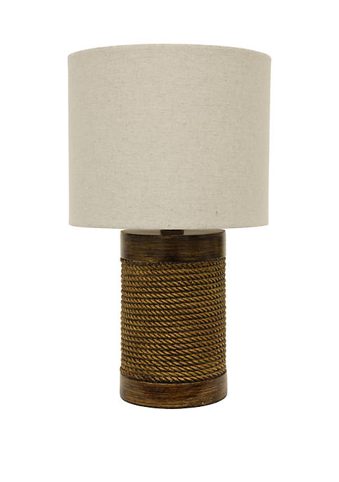 Décor Therapy Cali Rope Wrapped Accent Lamp