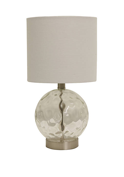 Décor Therapy Holland Coastal Glass Orb Lamp