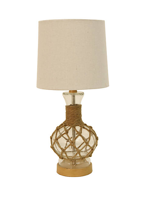 Décor Therapy Justin Coastal Rope Lamp