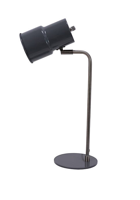 Décor Therapy Reynolds Metal Can Task Table Lamp
