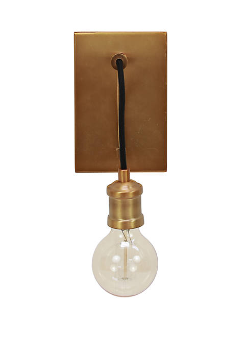 Décor Therapy Mills 1-Light Suspended Wall Sconce