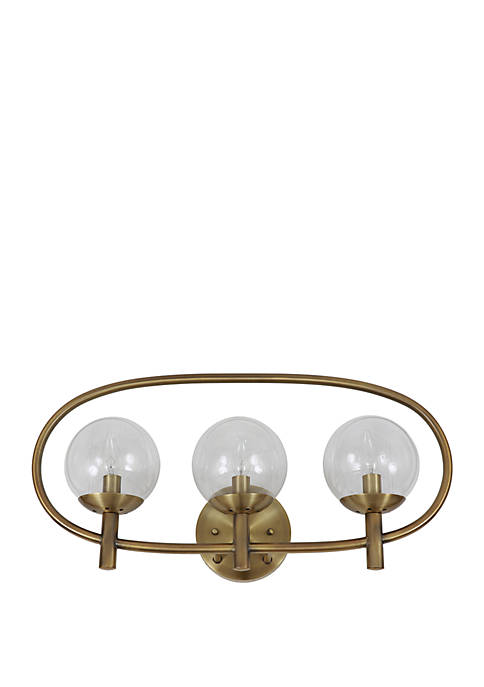 Décor Therapy Griggs Globe 3 Light Sconce