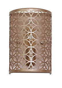 Décor Therapy Lucas Laser Cut Wall Sconce