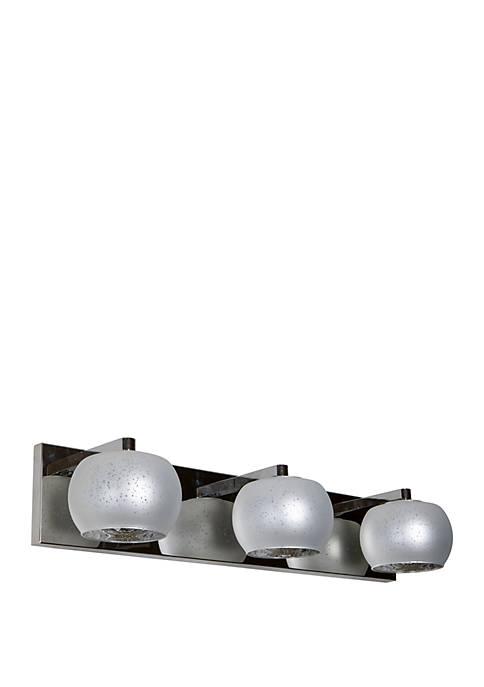 Jennings 3 Light Globe Shade Vanity Light