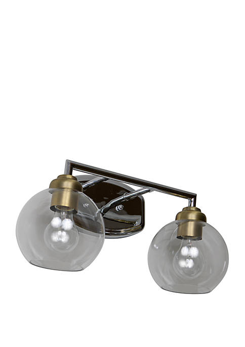 Décor Therapy Valeries 2 Light Vanity Light with