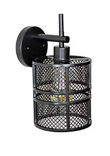 Décor Therapy Rixon Mesh Shade One Light Wall Sconce