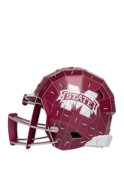 Team Beans NCAA Mississippi State Bulldogs 3D Helmet