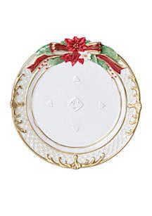 Cardinal Holiday Plate
