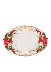 Cardinal Centerpiece Platter