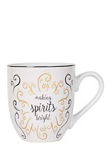 Making Spirits Bright Coffee Cake Mug Set
