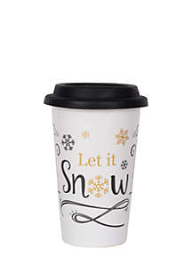 Let It Snow Travel Mug