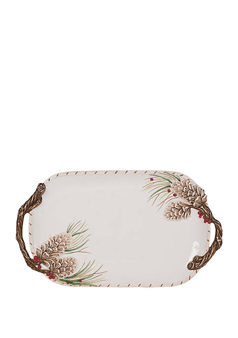 Forest Frost Serve Tray