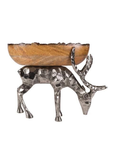 Woodgrove Stag Centerpiece Bowl