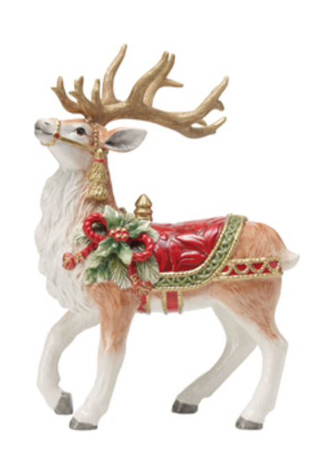 Holiday Home 12.5 Inch Deer Figurine