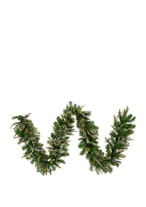 Vickerman 50 Cashmere Artificial Christmas Garland Unlit