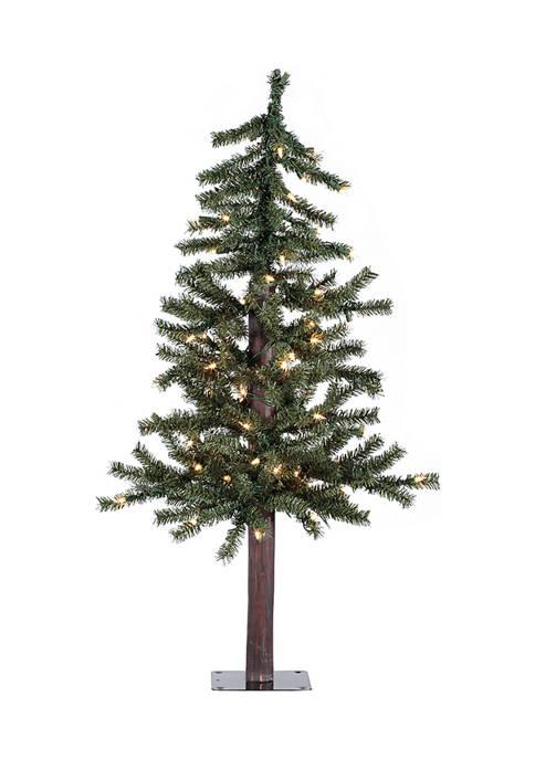 Vickerman Faux Alpine Tree