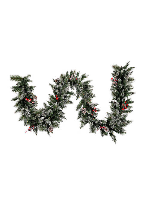 Snow Tipped Garland