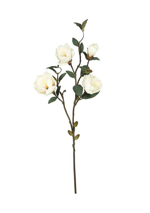 Vickerman Cream Magnolia Floral Stem