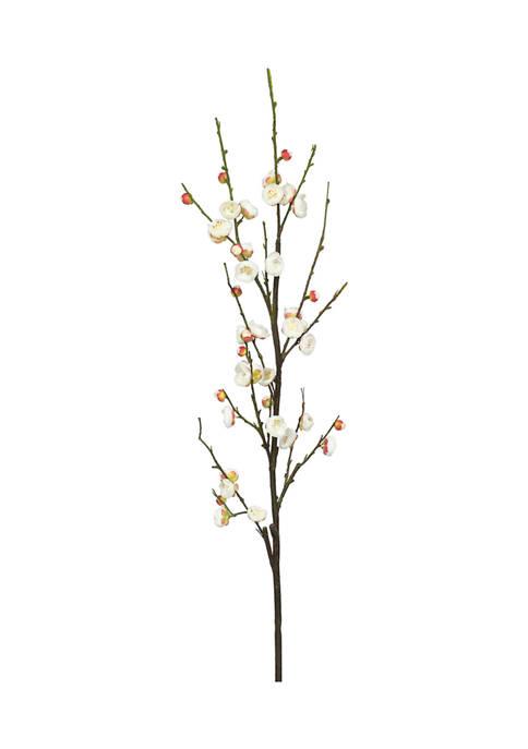Cream Plum Blossom Stem