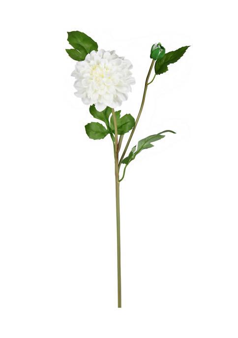 Cream Dahlia Stem - Set of 3