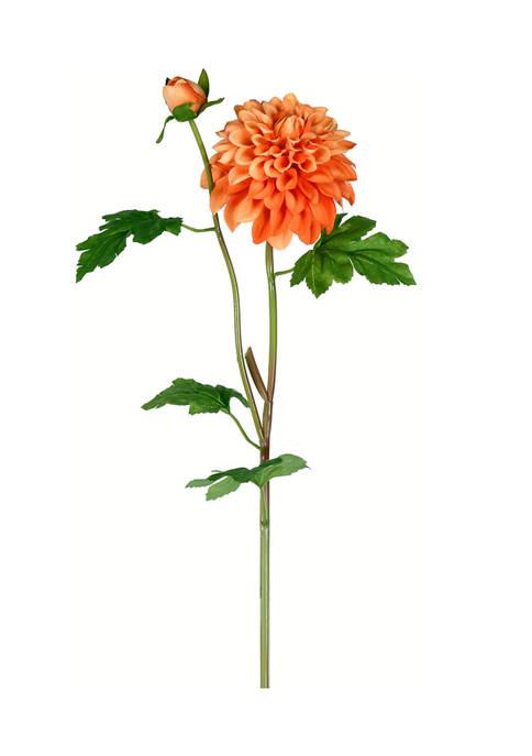 Vickerman Orange Dahlia Stem