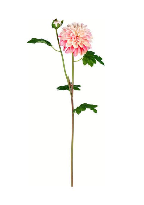 Vickerman Pink Dahlia Stem