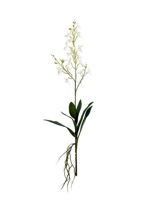 Mini White Orchid Spray - Set of 3