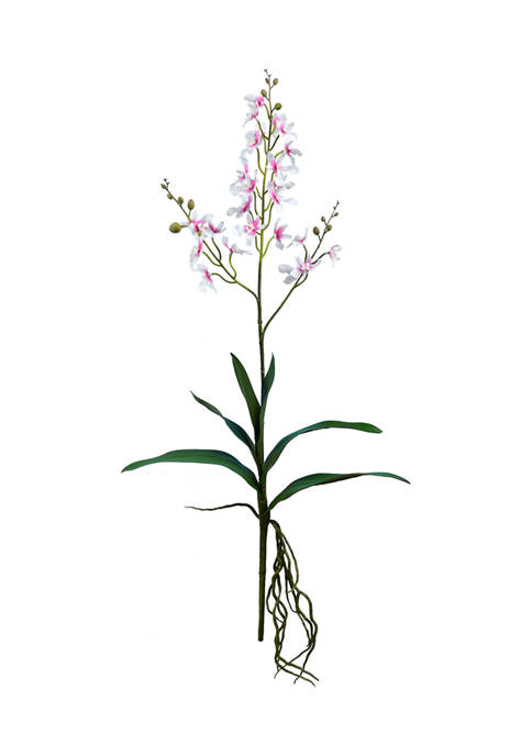 Vickerman Mini Pink and White Orchid Spray