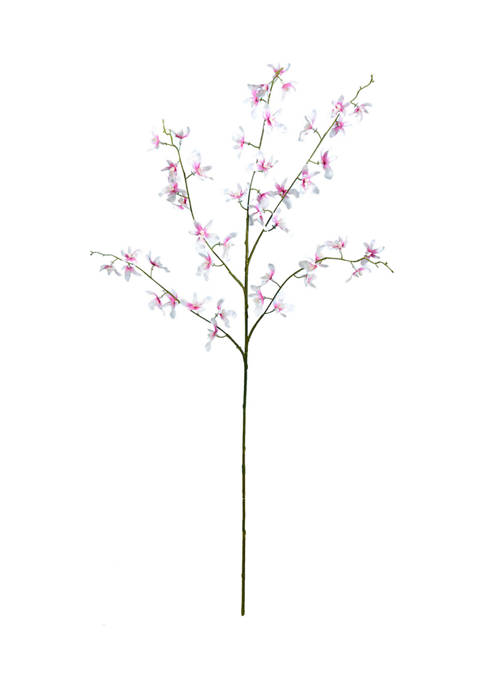 Mini Pink Dancing Orchid Spray - Set of 3