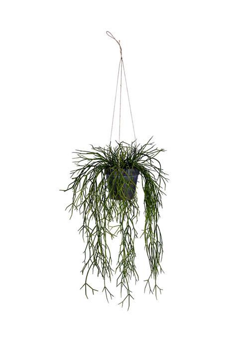 Green Dancing Bones Plant Hanger